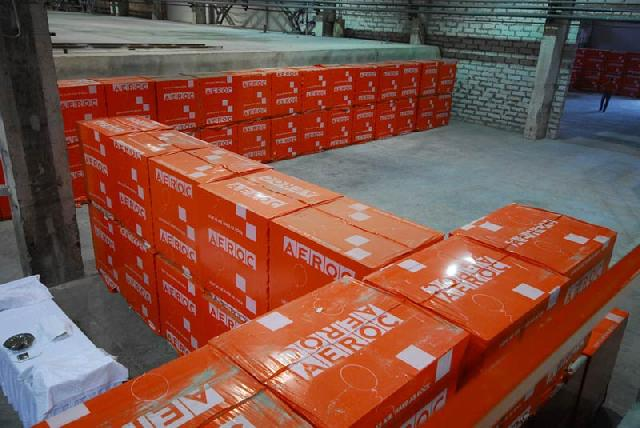 Газобетон в заводской упаковке