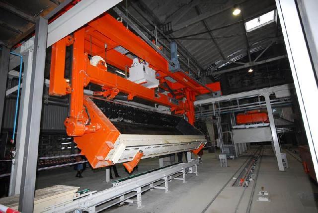 Производство газобетона требует специального оборудования