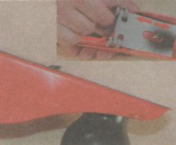 Работа рубанком - Винты для выступа ножа рубанка