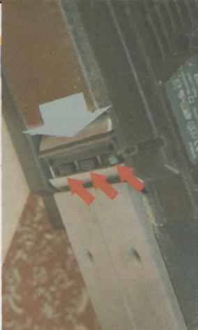 Работа рубанком - Крепление ножей в барабане электрорубанка