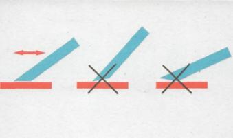 Работа рубанком - Угол наклона лезвия
