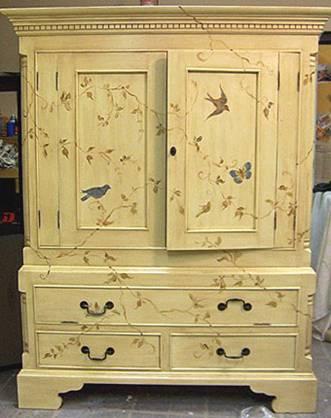 Реставрация мебели своими руками фото по