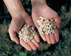 Садовые измельчители перемалывают мусор однородную массу, которая впоследствии легко утилизируется