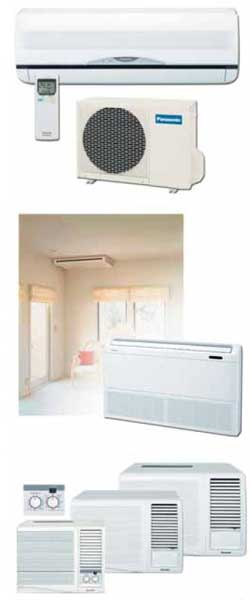 Разделение системы кондиционирования на внутренний и внешний блоки позволяет вынести компрессор за пределы помещения