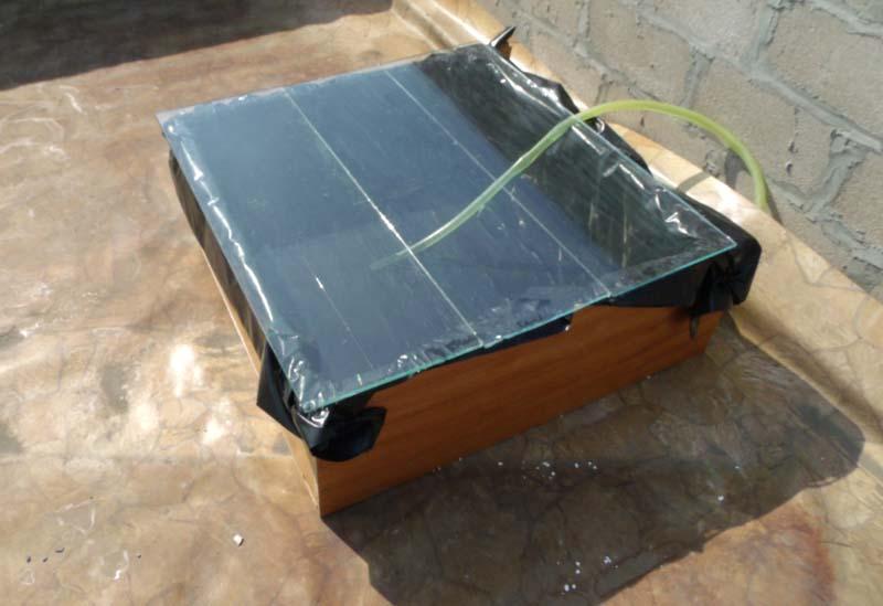 Солнечный коллектор типа нагревательный бак своими руками