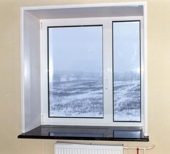 Окно с одной створкой