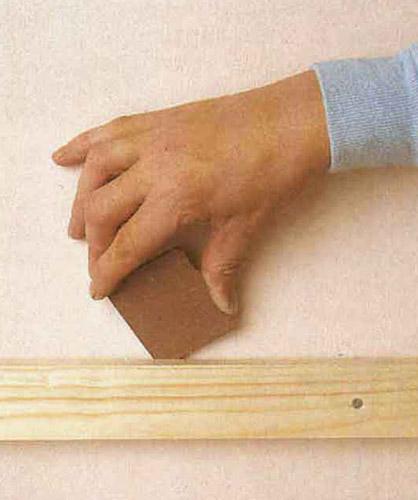 Выравнивание неровности стен обрешеткой