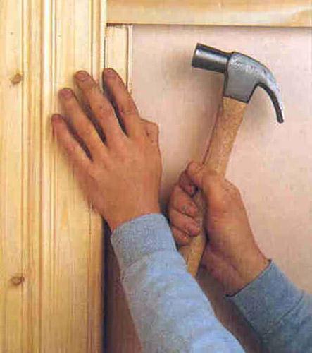 Подгонка деревянных панелей