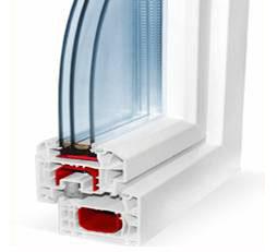 Двухкамерных стеклопакет с разной толщиной воздушных прослоек