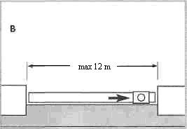 Рис. 2. План дома, для которого выполняется расчет водостока