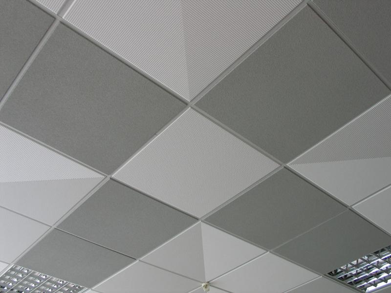 Подвесный плиточный потолок