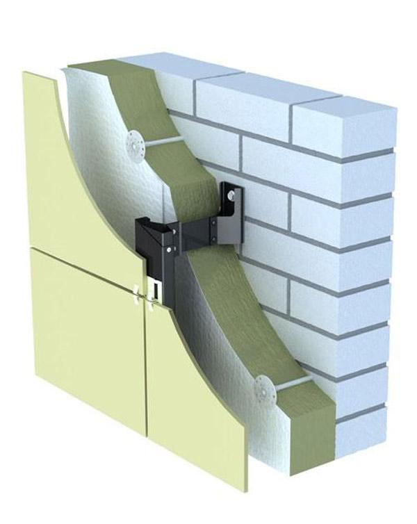 Система вентилируемого фасада повышает звукоизоляцию стен квартиры