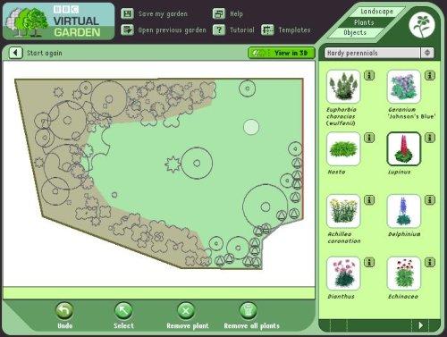 С помощью специальных программ самостоятельно создать дизайн ландшафта интуитивно просто