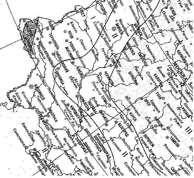 Рис. 2. Нормативная снеговая нагрузка от снега