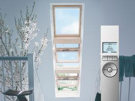 Окна для верхнего света с дистанционный управлением