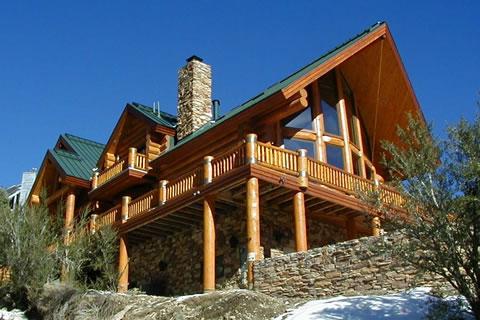 Строительство деревянных домов - пример деревянного дома
