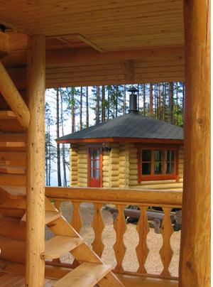 Все элементы деревянного дома обработаны антисептика и пропитка для древесины