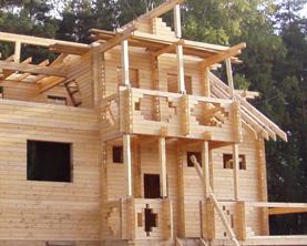 Строительство брусчатого дома