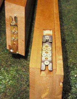 Крепления для деревянных конструкций