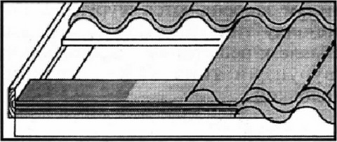 Рис. 4. Монтаж карнизной планки