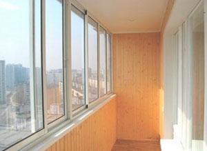 Ремонт балкона, остекление балкона