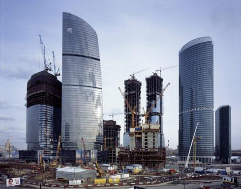 Москва-Сити.