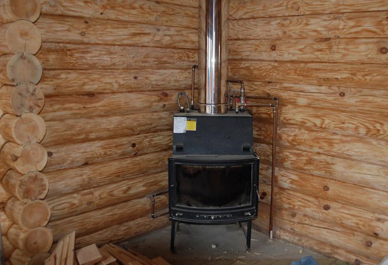 Печь в деревянной бане своими руками 591