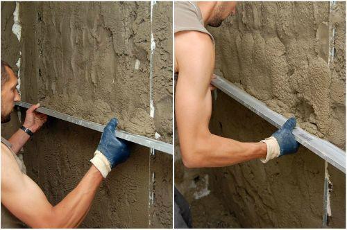 Штукатурка стен из кирпича своими руками