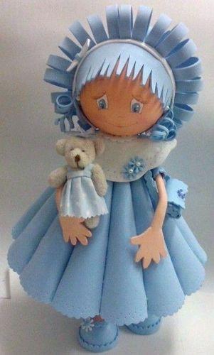 Куклы из фоамирана своими руками выкройки 466