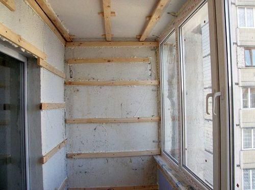 Отделка балкона своими руками пошаговая инструкция пластиковыми панелями 51
