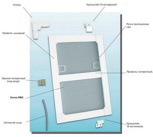 Фиксатор для пластиковых окон