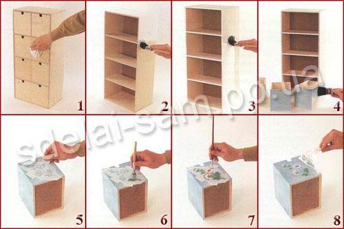 Как покрасить мебель своими руками - МирСоветов 7