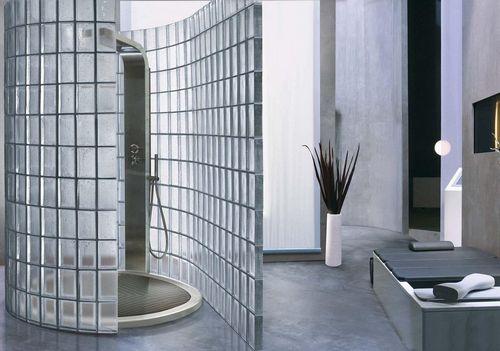 стеклянные блоки для перегородок стеклоблоки в ванной