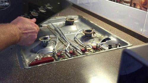 Ремонт индукционная плита aeg
