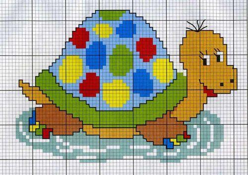 Вышивки крестом схемы для детей: ребенок простой, 7 лет начинающий.